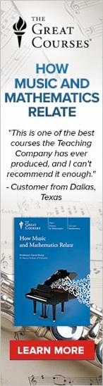 How are Mathematics & Music related?